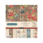 Teresa Collins - Now And Then Collection - 12 x 12 Paper and Accessories Pack