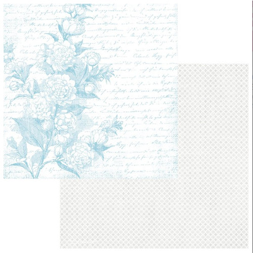 Teresa Collins - Sweet Afternoon Collection - 12 x 12 Double Sided Paper - In the Garden