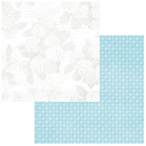 Teresa Collins Designs - Sweet Afternoon Collection - 12 x 12 Double Sided Paper - By the Pond