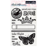 Teresa Collins - Sweet Afternoon Collection - Clear Acrylic Stamps