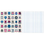 Teresa Collins - Sports Edition II Collection - 12 x 12 Double Sided Paper - Shields