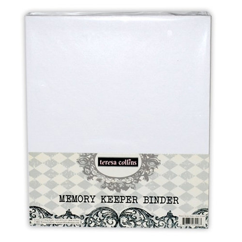 Teresa Collins - Sweet Afternoon Collection - Memory Keeper 3 Ring Binder