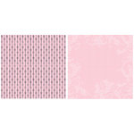 Teresa Collins - Timeless Collection - 12 x 12 Double Sided Paper - Pink Stripe