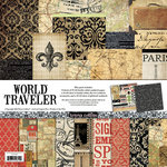 Teresa Collins - World Traveler Collection - 12 x 12 Paper and Accessories Pack