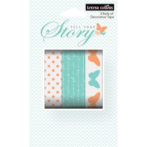 Teresa Collins - Tell Your Story Collection - Washi Tape