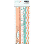 Teresa Collins - Tell Your Story Collection - Border Strips with Glitter Accents