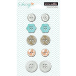 Teresa Collins Designs - Tell Your Story Collection - Buttons