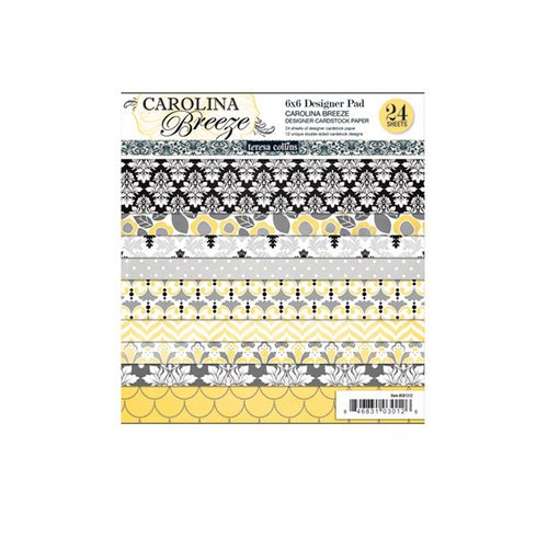 Teresa Collins - Carolina Breeze Collection - 6 x 6 Paper Pad