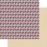 Teresa Collins Designs - Candy Cane Lane Collection - Christmas - 12 x 12 Double Sided Paper - Santa