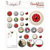 Teresa Collins Designs - Candy Cane Lane Collection - Christmas - Decorative Brads