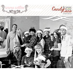 Teresa Collins Designs - Candy Cane Lane Collection - Christmas - Photo Overlays