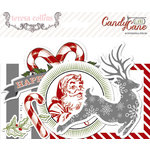 Teresa Collins Designs - Candy Cane Lane Collection - Christmas - Ephemera Pack