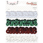 Teresa Collins Designs - Candy Cane Lane Collection - Christmas - Sequins