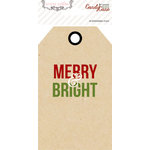 Teresa Collins Designs - Candy Cane Lane Collection - Christmas - Tags