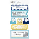 Teresa Collins - Everyday Moments Collection - Layered Stickers