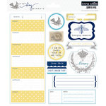 Teresa Collins - Everyday Moments Collection - Die Cut Cardstock - Two