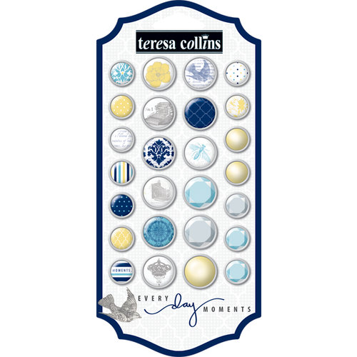 Teresa Collins - Everyday Moments Collection - Brads