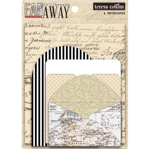 Teresa Collins - Far and Away Collection - Envelopes