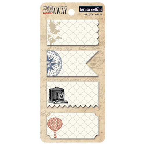 Teresa Collins - Far and Away Collection - Sticky Notes