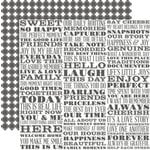 Teresa Collins Designs - Family Stories Collection - 12 x 12 Double Sided Paper - Subway