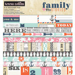 Teresa Collins Designs - Family Stories Collection - 6 x 6 Paper Pad