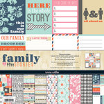 Teresa Collins - Family Stories Collection - 12 x 12 Paper and Accessories Pack