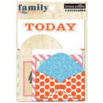 Teresa Collins Designs - Family Stories Collection - Envelopes