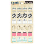 Teresa Collins Designs - Family Stories Collection - Photo Corners
