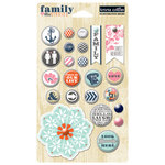 Teresa Collins Designs - Family Stories Collection - Decorative Brads