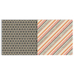 Teresa Collins Designs - He Said She Said Collection - 12 x 12 Double Sided Paper - Stripes