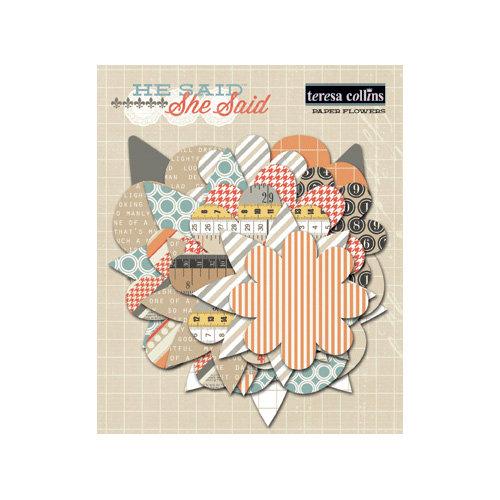 Teresa Collins - He Said She Said Collection - He Said - Paper Flowers