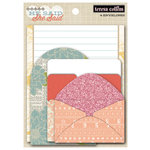 Teresa Collins Designs - He Said She Said Collection - She Said - Envelopes