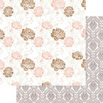 Teresa Collins Designs - Life Emporium Collection - 12 x 12 Double Sided Paper - Flowers