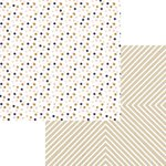 Teresa Collins Designs - Life Emporium Collection - 12 x 12 Double Sided Paper - Dots