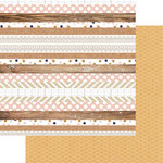 Teresa Collins Designs - Life Emporium Collection - 12 x 12 Double Sided Paper - Multi Stripe