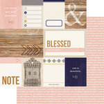 Teresa Collins Designs - Life Emporium Collection - 12 x 12 Double Sided Paper - Cards