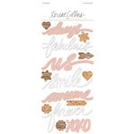 Teresa Collins - Life Emporium Collection - Vellum Stickers - Words