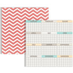 Teresa Collins Designs - Memories Collection - 12 x 12 Double Sided Paper - Calendar