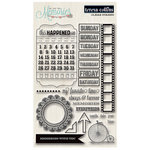 Teresa Collins Designs - Memories Collection - Clear Acrylic Stamps