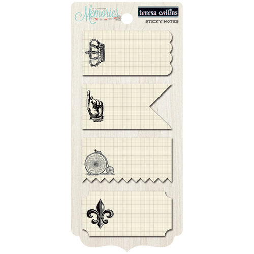Teresa Collins Designs - Memories Collection - Sticky Notes