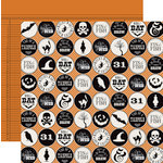 Teresa Collins Designs - Masquerade Party Collection - 12 x 12 Double Sided Paper - Icons