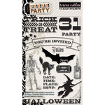 Teresa Collins - Masquerade Party Collection - Clear Acrylic Stamps