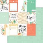 Teresa Collins Designs - Nine and Co Collection - 12 x 12 Double Sided Paper - Cards