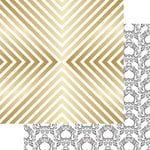 Teresa Collins Designs - Nine and Co Collection - 12 x 12 Double Sided Paper with Foil Accents - Shine