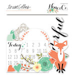 Teresa Collins Designs - Nine and Co Collection - Ephemera Pack