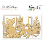 Teresa Collins Designs - Nine and Co Collection - Die Cut Wood Shapes