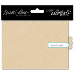 Teresa Collins Designs - Signature Essentials Collection - Flip Book - Kraft - Small