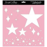 Teresa Collins - Signature Essentials Collection - 12 x 12 Stencil - Stars