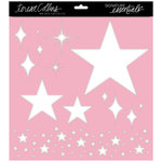 Teresa Collins Designs - Signature Essentials Collection - 12 x 12 Stencil - Stars