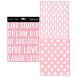 Teresa Collins Designs - Signature Essentials Collection - 8 x 10 Stencil Pack - Dream